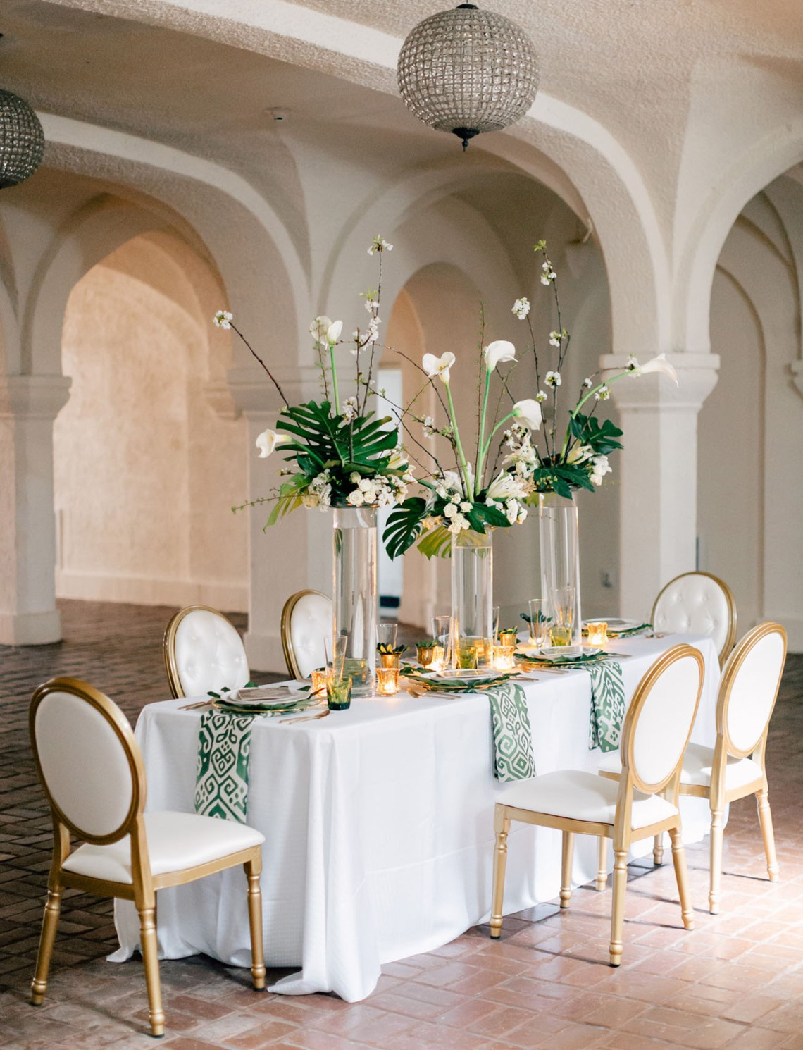 Modern Art Deco Wedding Inspiration | Green Wedding Shoes