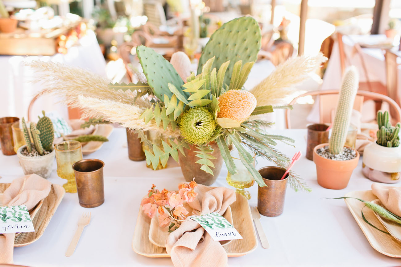 Cactus-Inspired Bridal Shower