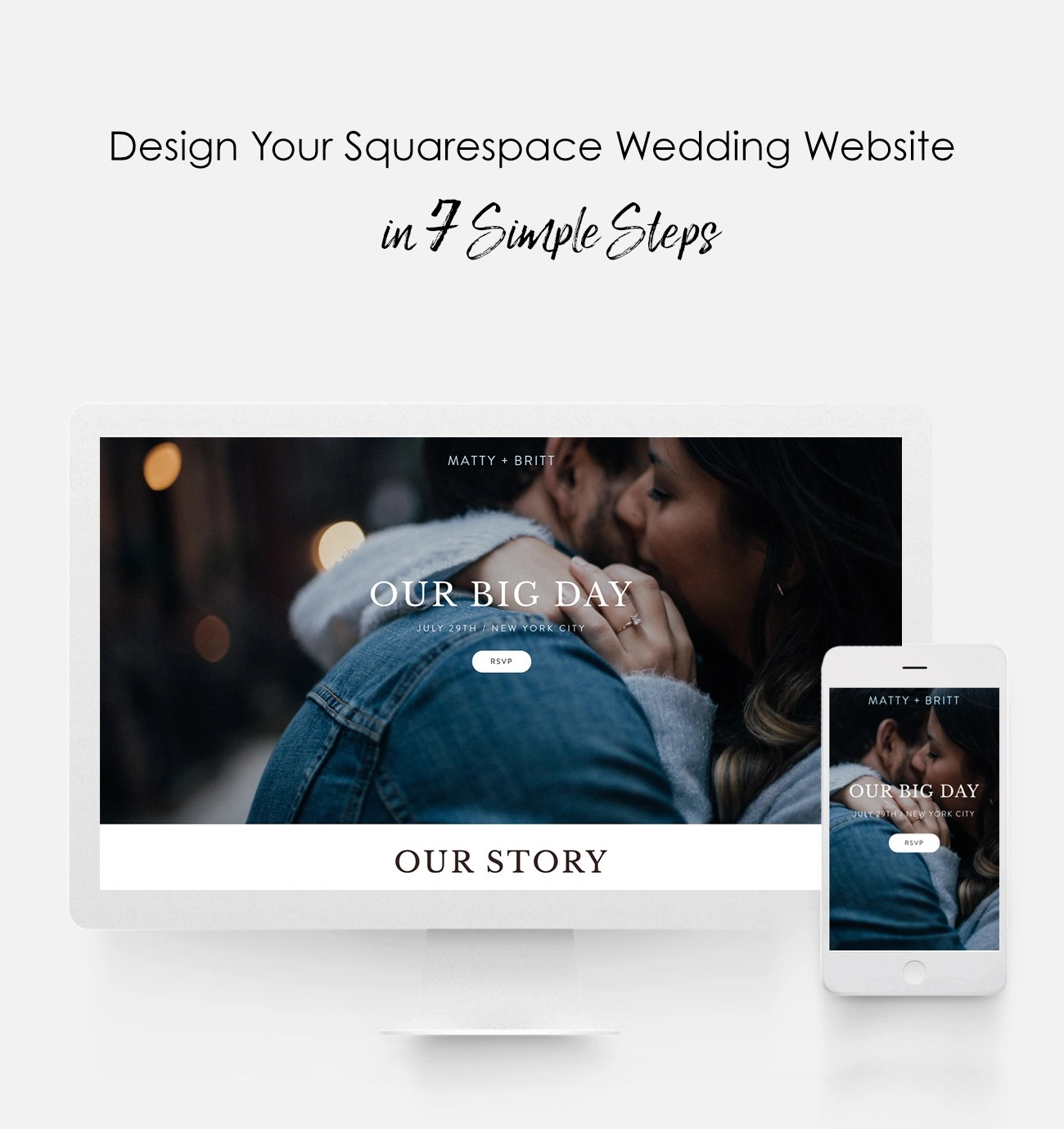Design Your Squarespace Wedding Website in 7 Simple Steps   Green     Design Your Squarespace Wedding Website in 7 Simple Steps