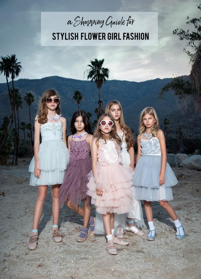 flower girl fashion shopping guide
