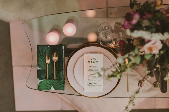 pink dinner plates