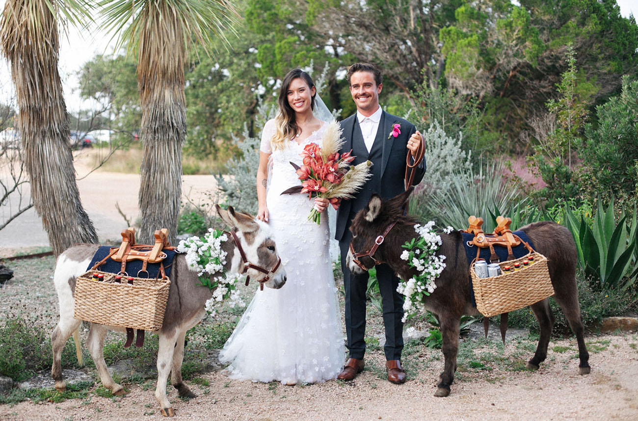 bohemian garden party wedding