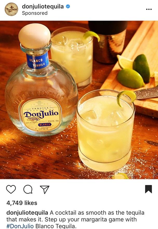 Instagram Advertising for Don Julio