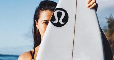 lululemon athletica swimwear brand ambassador on social media