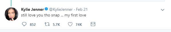 Does Kylie Jennfer Still Love Snapchat?