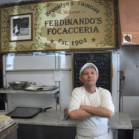 Vasteddi Sicilian Beef Spleen Sandwich New York