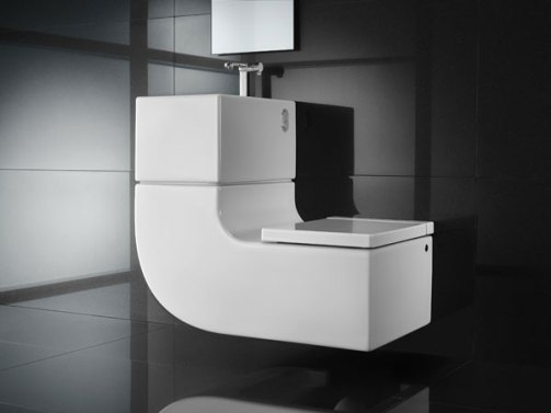 WW 004 02336 Eco Friendly, Space Saving Toilet & Washbasin Combo from Roca