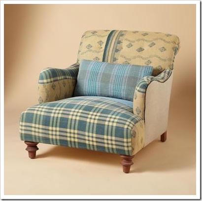 sundance chair blue falan