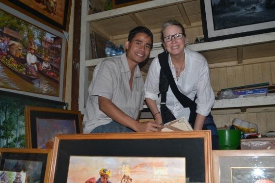 bogyoke aung san market burma shop