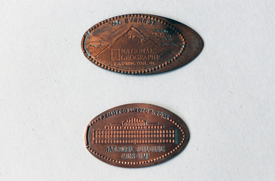 Squished Pennies Jenni Fuchs Museum 140