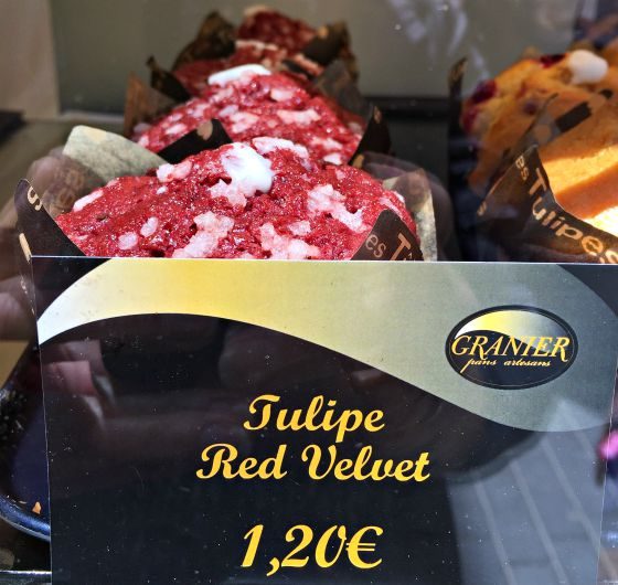 red velvet cupcakes in Lloret del Mar