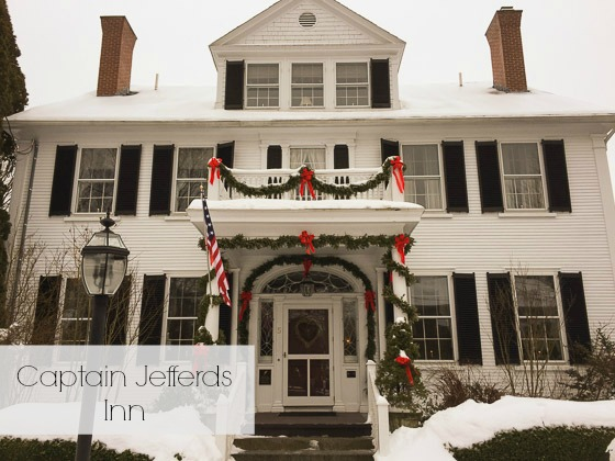 Captain Jeffers Inn Kennebunkport, Maine exterior