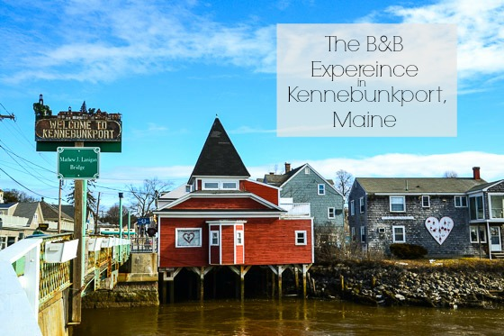Kennebunkport Maine Bed and Breakfast experience