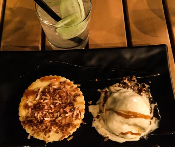 Camana bay flavor tour dessert at Mizu