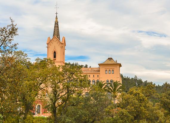 Sanctuary at Sant Pere del Bosc