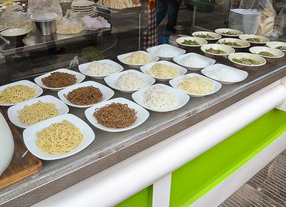 Noodles street food