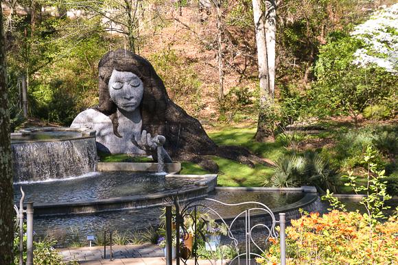 Maiden in the garden
