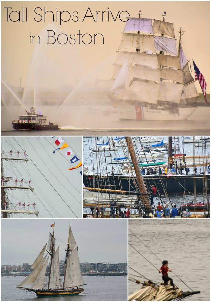 Parade of Tall Ships in Boston