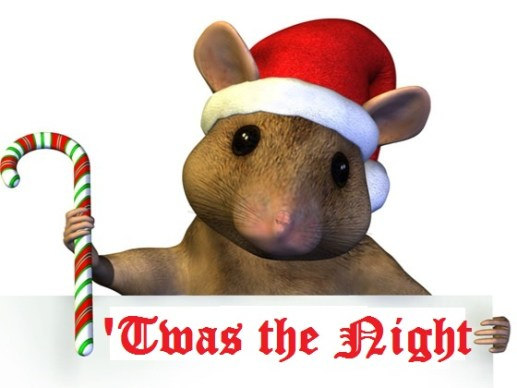 Christmas Mouse.The Christmas Mouse