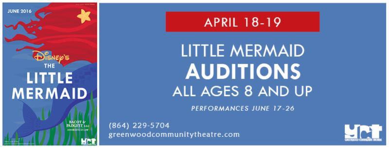 Little Mermaid Auditions
