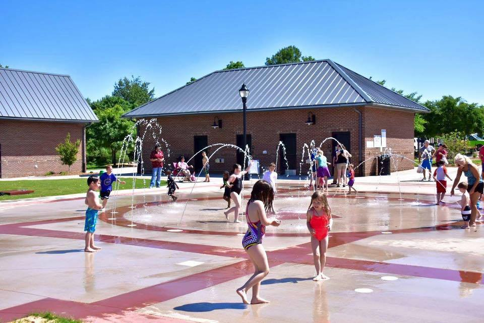 Interactive Splash Pad