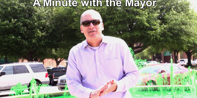 Mayor: interactive splash pad
