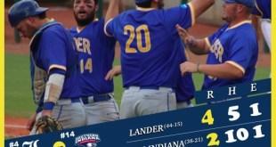 Lander wins second in world series