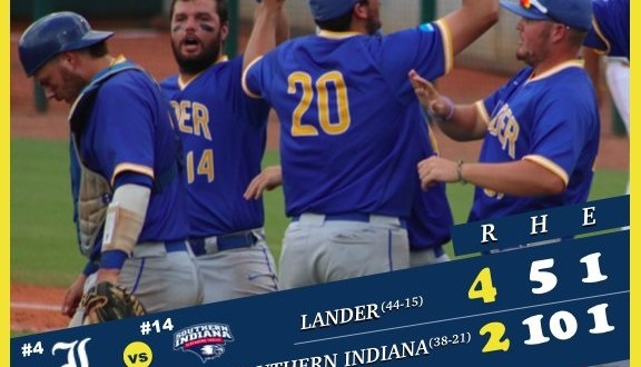 Lander wins second in world series