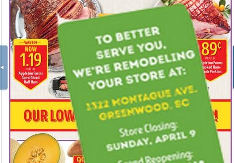 Greenwood Calendar Tip: Stock Up at Aldi before April 9