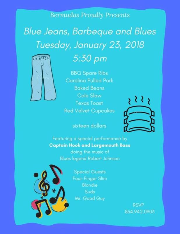 Blue Jeans, BBQ & Blues