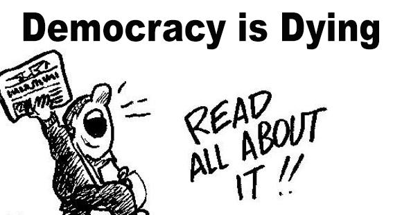Media Fail, Democracy at Stake