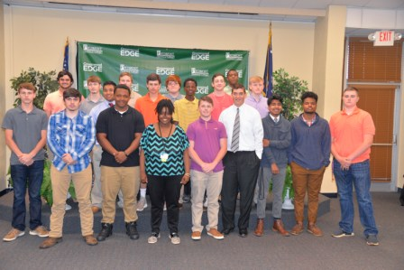 Greenwood Edge Signs 19 Recruits at Piedmont Tech Ceremony