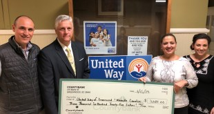 Countybank and Greenwood Capital Present Donation to United Way