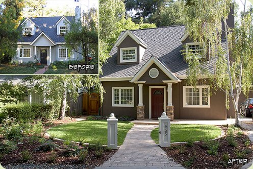 A curb appeal makeover.