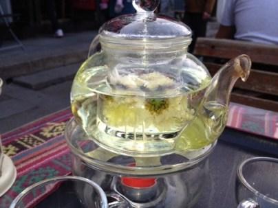 Chrysanthemum tea.