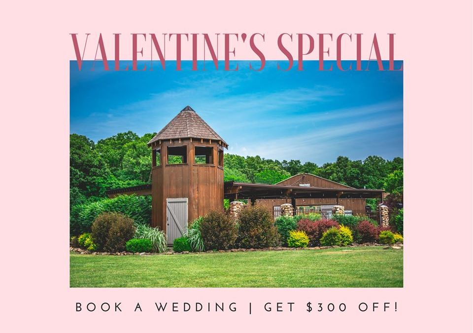 Valentine's Day Special at Our Joplin Wedding Venue