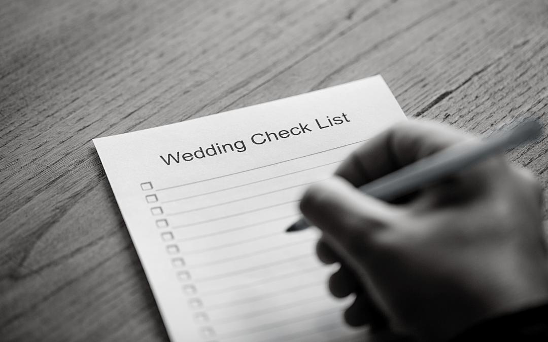 Wedding Checklist for Joplin, MO