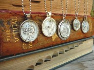 dictionary illustration necklaces