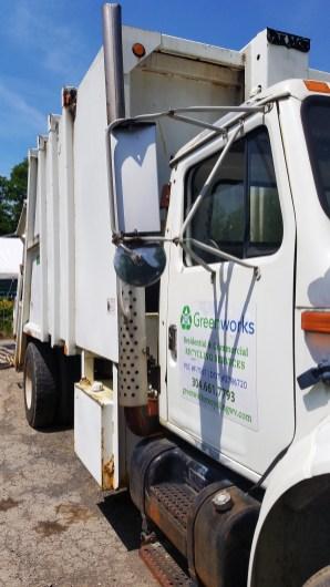 Greenworks Cardboard Packer Truck