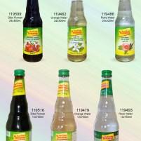 Granite Syrup, Pomegranate Molasses, Orange Water, Blossom Water, Yamama