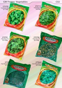 GW Frozen Vegetables