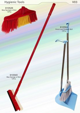 Brooms and Squeegees