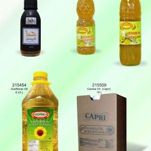 Sesame Oil Canola Oil