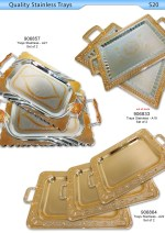 Stainless Trays
