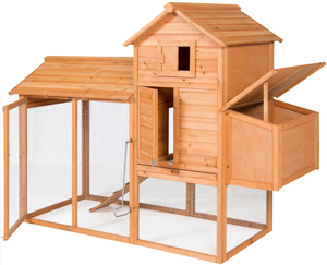 """Best Choice Products 80"""" Wooden Chicken Coop Review"""