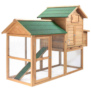 SmithBuilt 7 ft. Wooden Chicken Coop Review