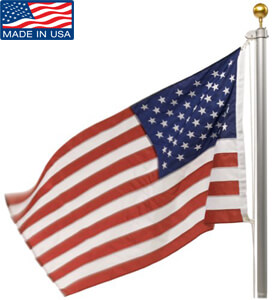 Best residential flag pole september 2018 buyers guide and reviews valley forge flag kit best flag pole kit publicscrutiny Image collections