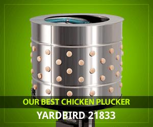 🥇 Top 5 Best Chicken Plucker (2019) - GreenYardMaster