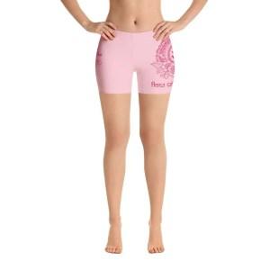 Pantalones cortos flow with love rosa