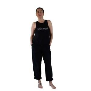 camiseta organica fallen angel negra